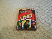 New Harry Potter Uno Card Game Mattel 2005 Collectible - Factory Sealed