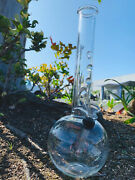 Bong Water Pipe 10andrdquosmoking Tobacco Hookah New With Design Clear Marbles