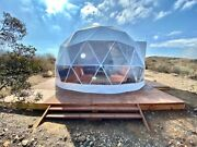 Geodesic Dome Tent - 16.4ft 5m -andnbspprefab Geodome Business Outdoors Camping