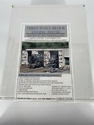 Ho Scale 187 Vintage Micro-scale Models 3 Stall Block Engine House Kit 00601