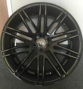22and039and039 Range Rover Black Curva C50 Concave Wheels Tires Land Rover Hse Sport Lr3