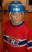 Vintage Stall And Dean Puckmaster Blue Hockey Helmet Montreal Canadiens Colors