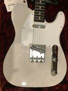 Fender Jimmy Page Mirror Telecaster 6 String Electric Guitar - White Blonde 2020
