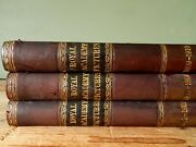 3 X Antique Edwardian Books Royal Academy Pictures Old Vintage Antiquarian A
