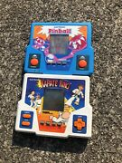 Vintage 1980s Tiger Electronics Video Game Lot Karate King And Electric Pinball