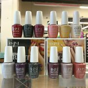 Opi Gelcolor Lacquer Polish - 2020 Holiday Collection - Shine Bright - Pick Any