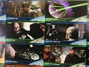 Star Wars Topps Widevision Rare Uncut Cards Sheet 1994