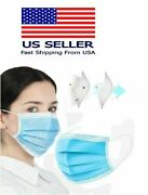 50/100/150 3-ply Blue Earloop Medical Dental Disposable Protective Face Mask
