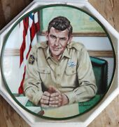 Sheriff Andy Taylor Hamilton Plate Collection By Robert Tanenbaum