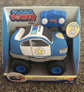 Plush Squeezable Rc Racer Truck Soft Body Tires Toy Plush Power Remote Control