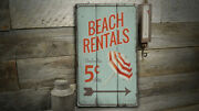 Umbrella Vintage Distressed Sign Personalized Wood Sign