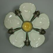 Wedgwood Majolica Dolphin/fish Oyster Plate