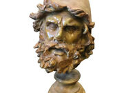 Bronze Neoclassical Italian Ulysses Statue About 1950