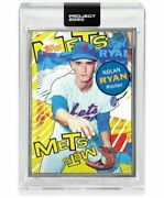 Topps Project 2020 Card 263 Nolan Ryan By Tyson Beck - Artist Proof /20 In Hand