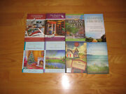 Mixed Lot Of 8 Guidepost Mystery Series Hb Books- Bryson City, Sugarcreek, Blue