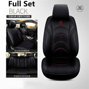 Full Set Front And Rear Car Seat Cushion Wear-resistant Leather Seat Cover Usa