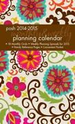 Posh Floral Whimsy 2014-2015 Monthly/weekly Planning Calendar