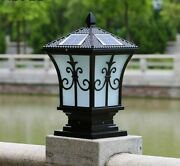 Industrial Garden Solar Lights Fence Decoration Led Chips+e27 Bulb Dual Lamp New