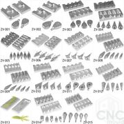 Fishing Lead Mould Cnc Aluminium Sea Weights Moulds 1oz To 7oz Various Forms New