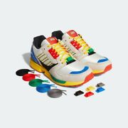Adidas Originals X Lego Zx 8000 Shoes Sneakers Size 9.5 Fz3482