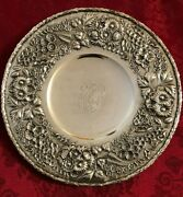 S. Kirk And Son Co. Exquisite Heavy Ornate Footed Cake/cookie Platter 10