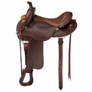 Tough-1 Tough 1 Brisbane Trail Saddle With Horn Deluxe Package