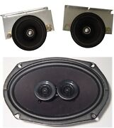1976 Cadillac Convertible Dash And Rear Speaker For Modern Stereo 4 Ohm
