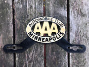 Original Aaa Accessory License Plate Topper Minneapolis Mn Mn Gm Ford Chevy