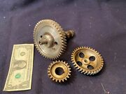 1969 Bmw Airhead R69s Camshaft Cam And Timing Gears - 0 Crank Gear Motorcycle