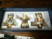Lang And Wise Collectibles Patchwork Angels Susan Winget Christmas Nativities