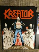Kreator Terrible Certainty Original 80and039s Vintage Rare Backpatch Not Used