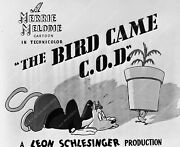 1062-02 Merrie Melodie Cartoon Wb Animation The Bird Came C.o.d. 1062-02 1062-02
