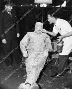 1625-032 Lon Chaney Jr Gets Makeup Touch Ups From Jack Pierce On Set The Ghost O