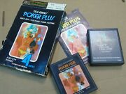 Ntsc Poker Plus Sears Complete For The Atari 2600 Video Game System
