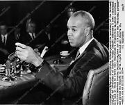 1868-27 Roy Wilkins Exec Secretary Of The Naacp For Calif Prop 14 Civil Rights 1
