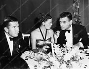 1910-32 Candid Photo Bruce Cabot Joan Harrison Clark Gable Dining Out On The Tow