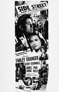 2528-034 Ad Slick Farley Granger Cathy Oand039donnell Film Side Street 2528-34 2528-0