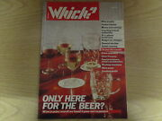 June 1987 Which Magazine Wine In Pubs Contact Lenses Wine Boxes Food Mixers