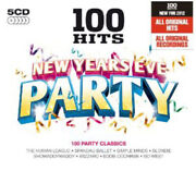 Various Artists 100 Hits New Years Eve Party Cd Box Set 5 Discs 2011
