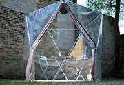 1v Geodesic Igloo Dome For Outdoor Dining And Greenhouse