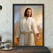 Jesus And Virgin Mary Canvas Wall Art Religious Bible Stories Posters Decoration