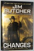 Changes - Jim Butcher 2010 Dresden Files First Edition 1st/1st Nf/nf