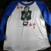 Rare Vintage Concert Tee 1981 Elvis Costello And The Attractions English Mugs
