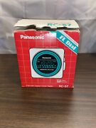 Nos Vintage 70and039s Panasonic National Rc-57 Am Fm Clock Radio Works Newold Stock