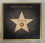 2001 Collectible Zippo Hollywoodand039s Leading Light Unused In Box