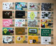 You Choose One Of 20 Different 2014 Starbucks Card Gift Card Collectible Lot