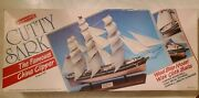 Vintage Scientific Cutty Sark Famous China Clipper Scale 1100 Wood Ship Model