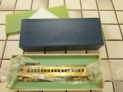 Alco Undecorated Brass Mp 54 Passenger Car Ho Scale //// Non Powered