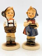 2 Goebel Hummel Mi Hummel Club Membership 629 From Me To You And 630 For Keeps 149