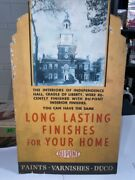 Dupont - Paint-varnishes-duco - Advertising Sign Super Rare - Independence Hall